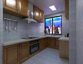 120㎡地中海风格装修厨房效果图