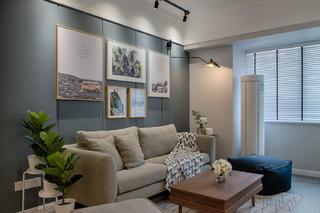 50㎡小户型装修沙发背景墙图片