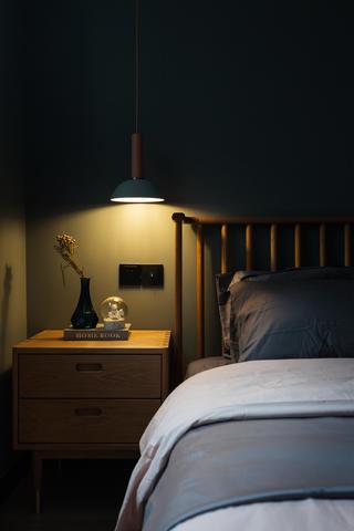 98㎡北欧风格家床头柜图片
