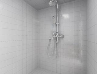 混搭二居装修淋浴房图片