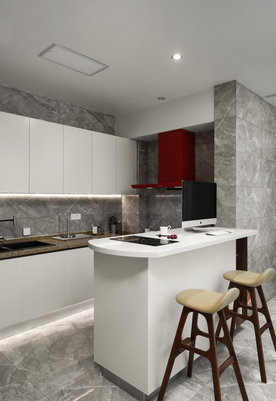 大户型现代风格厨房设计图