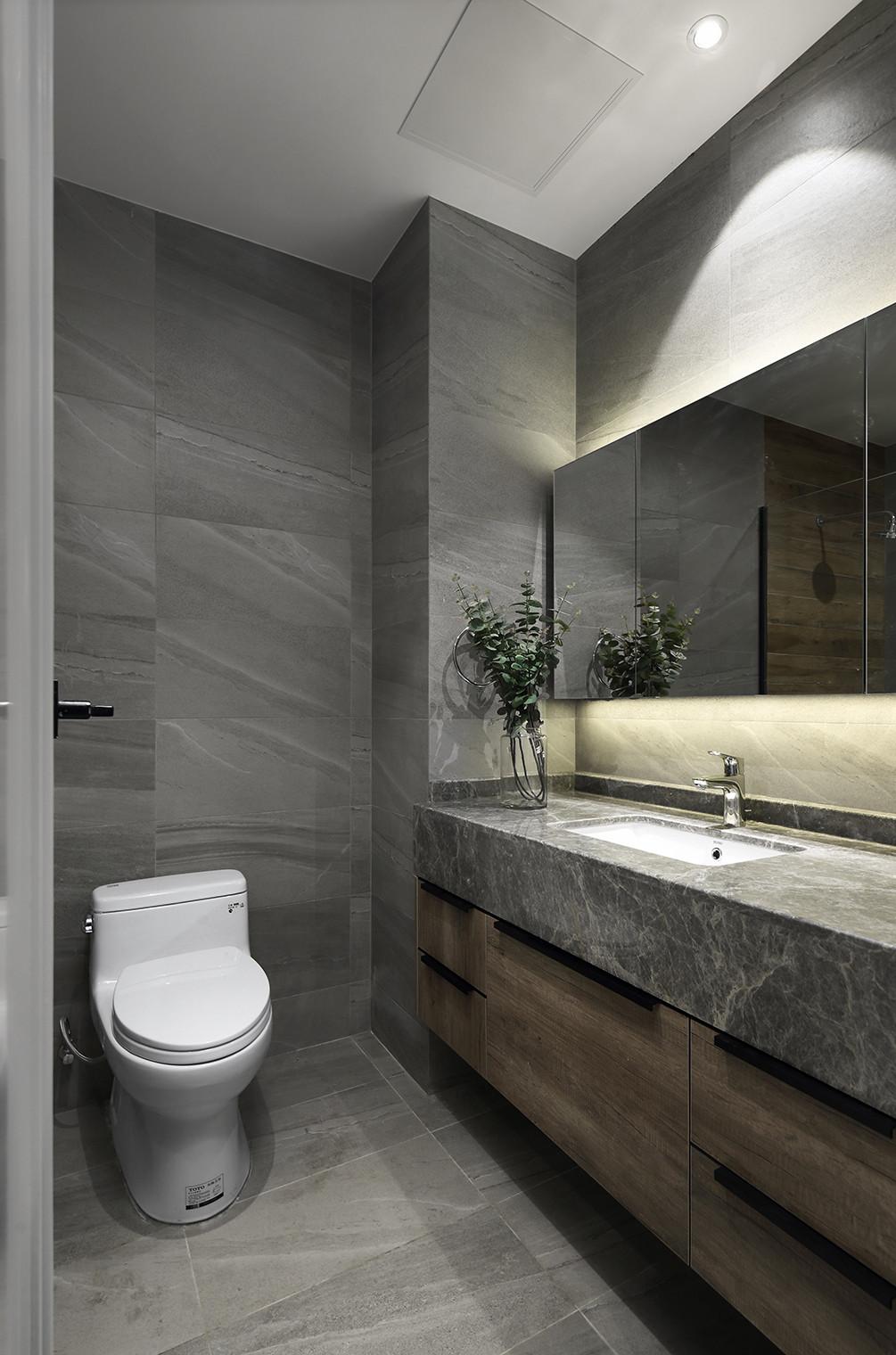 276平现代简约家卫生间设计图