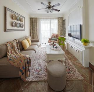 欧式四居室装修会客厅效果图