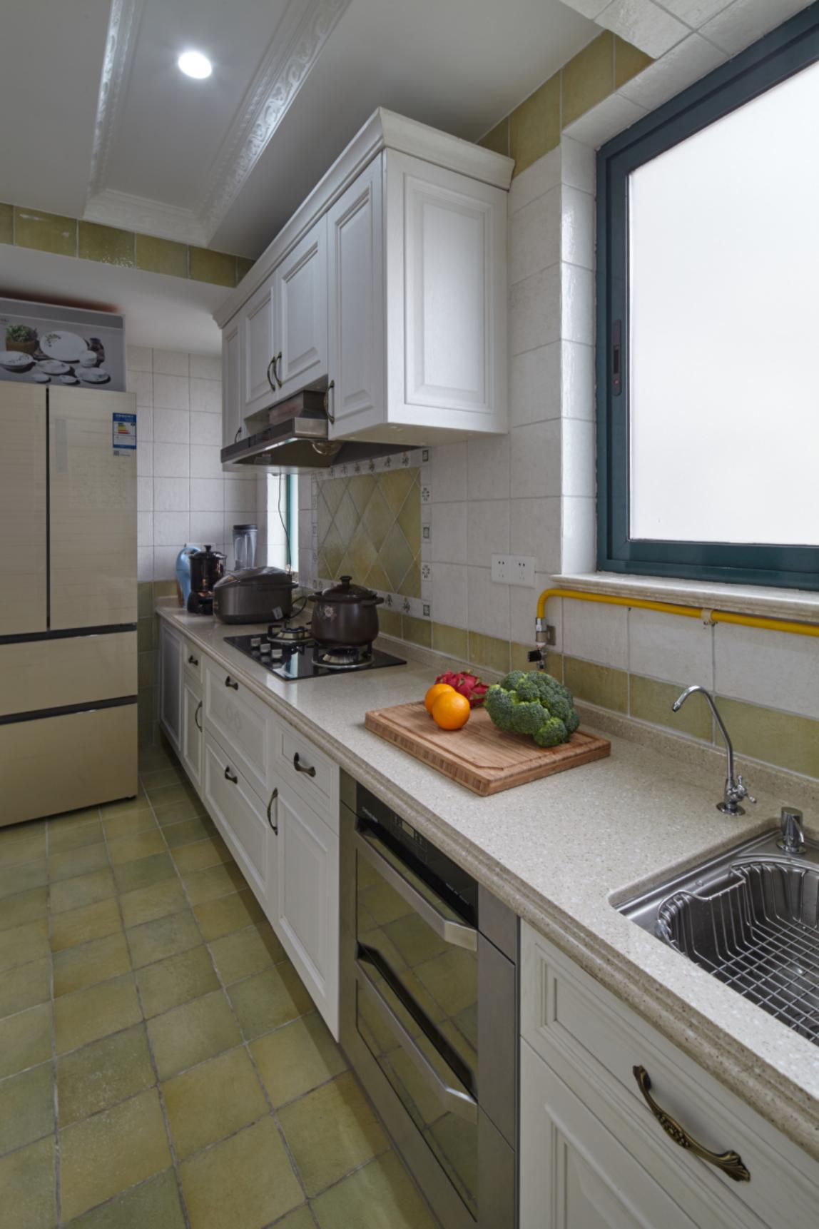 欧式四居室装修厨房参考图
