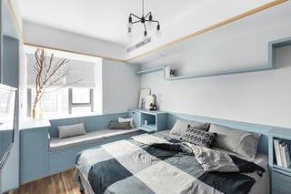 72平一室一厅混搭装修卧室设计图