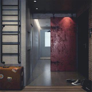 loft二居室装修门厅设计图