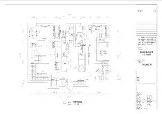 63平二居室混搭装修平面布置图