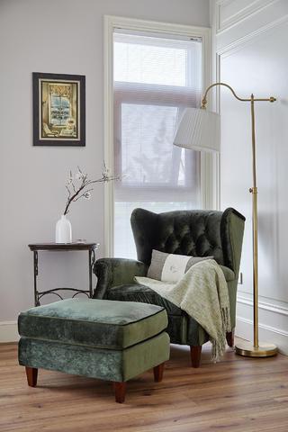 欧式别墅装修单人椅图片