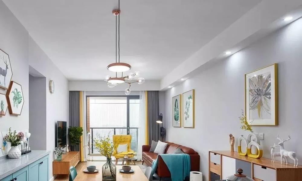 88平现代北欧宅,倾心四房暖居