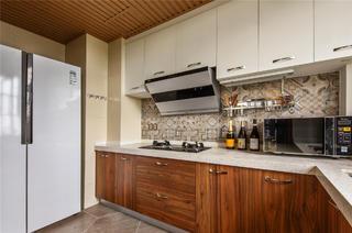 126平三居室装修厨房效果图