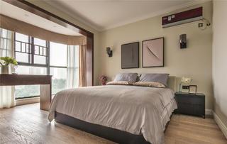 126平三居室装修主卧设计图