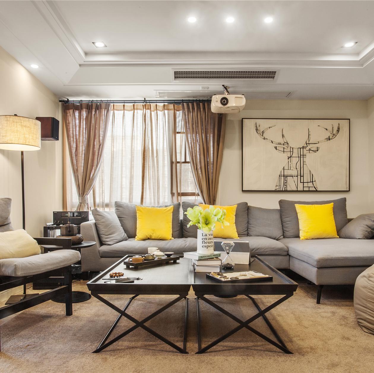 126平三居室装修 开敞明亮