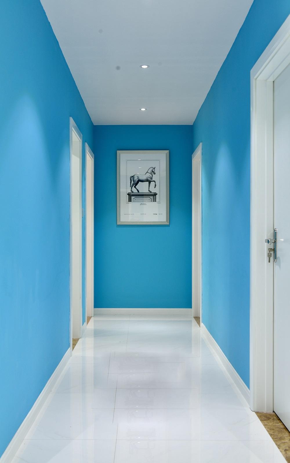 130㎡现代简约家玄关走廊图片