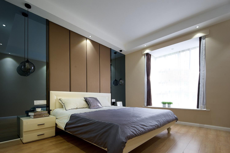 130㎡现代简约家卧室效果图