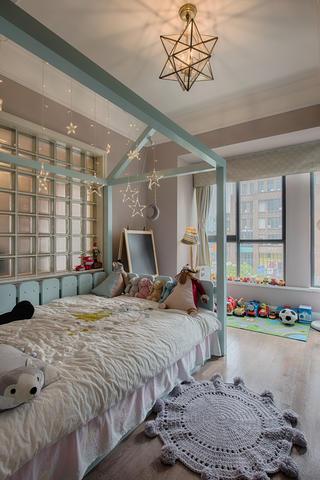 三居室混搭装修儿童房设计图