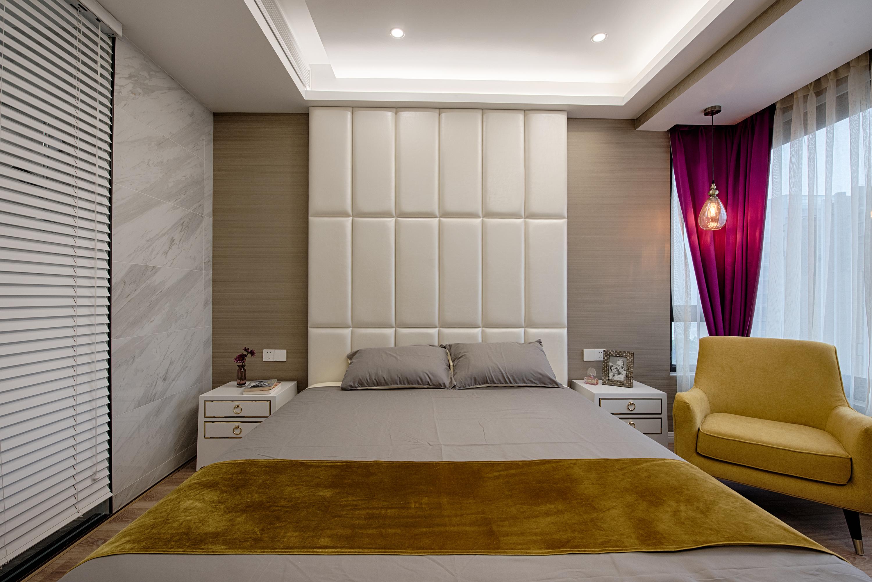 92平现代轻奢风装修卧室设计图