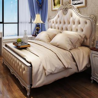 欧式新古典风装修床头软包图片