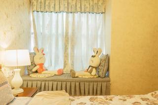 二居室混搭风格装修飘窗设计