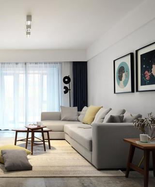 160平现代简约设计 舒服居所
