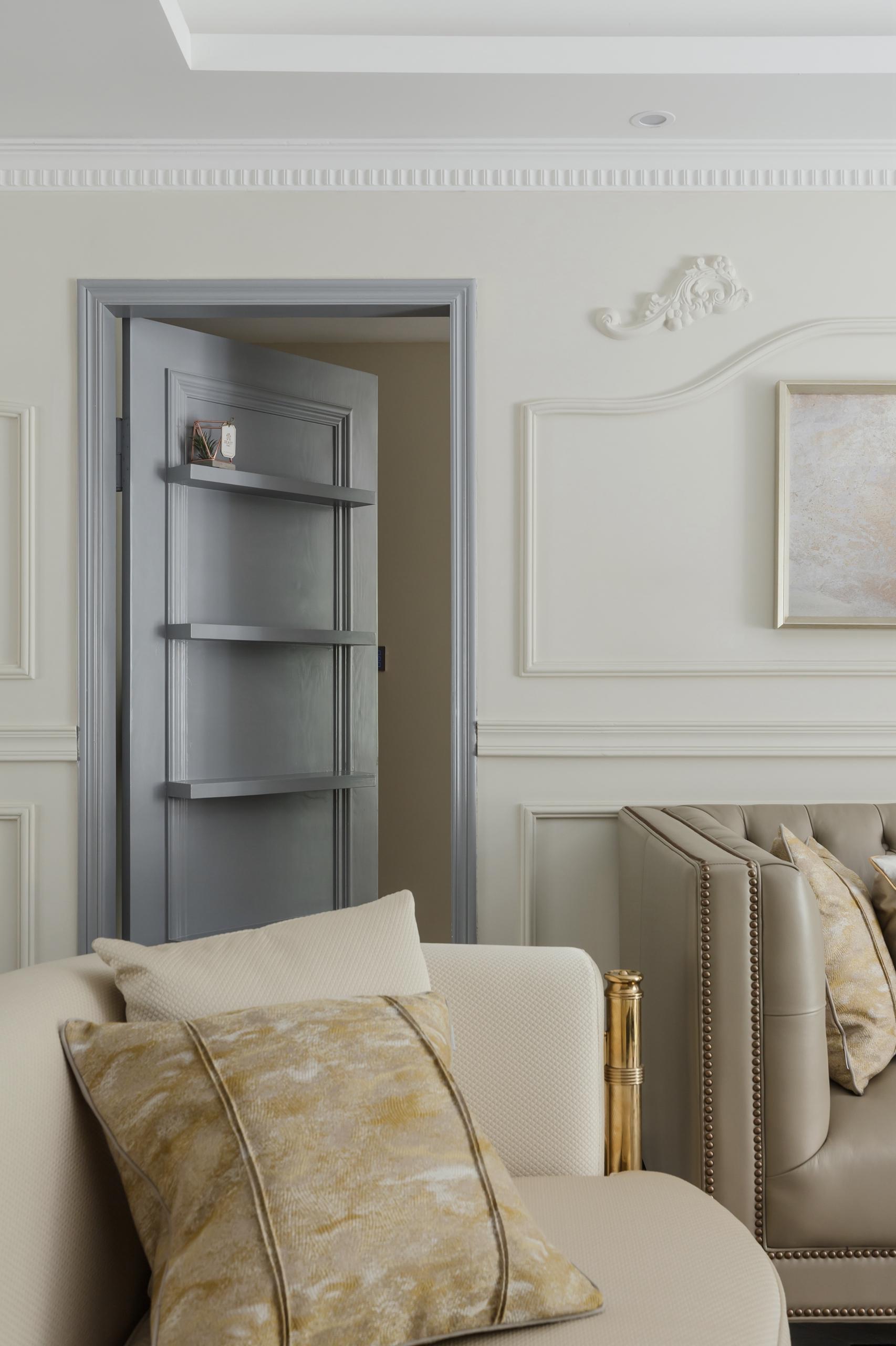 美式三居室隐形门设计