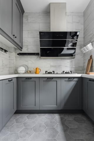 110平北欧风格家厨房构造图
