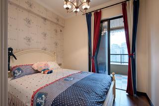美式四居室装修儿童房设计图