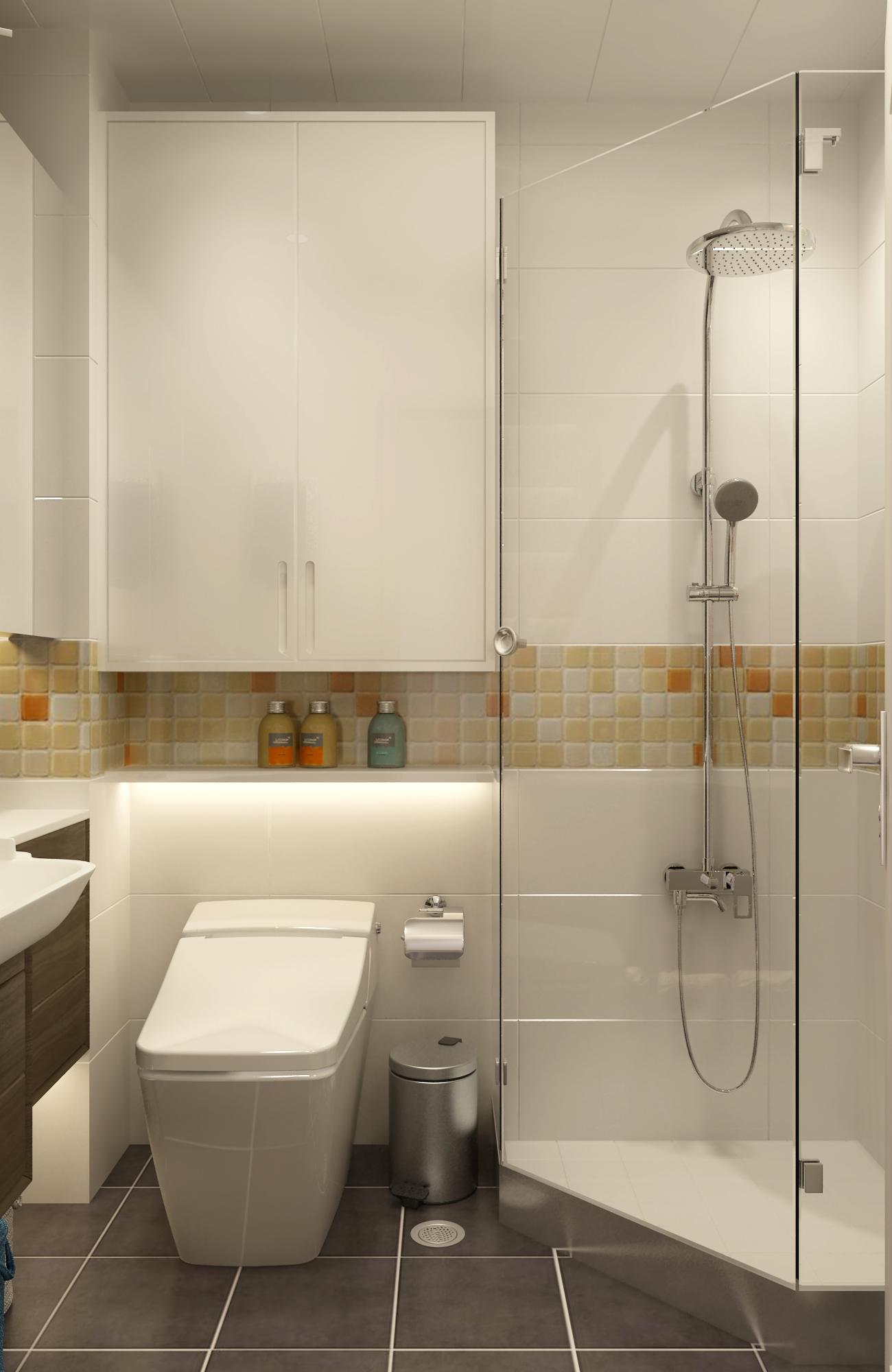 简约三居之家浴室柜图片