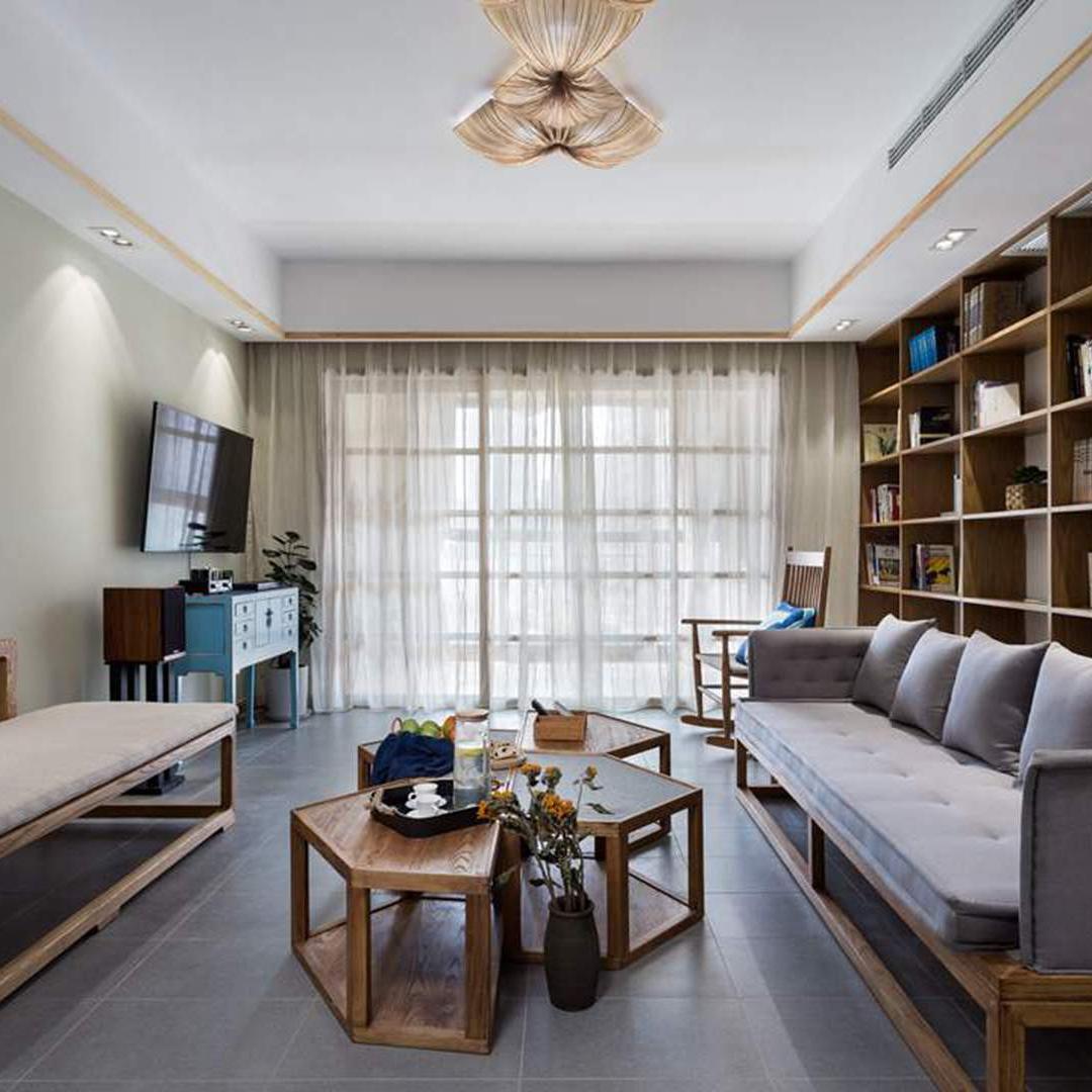 日式三居装修效果图 素雅木香