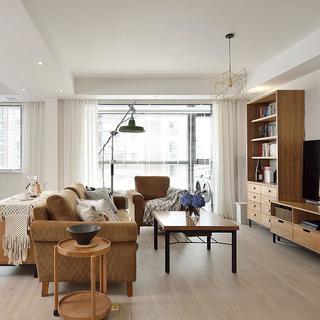 简约二居室空间 开朗美观