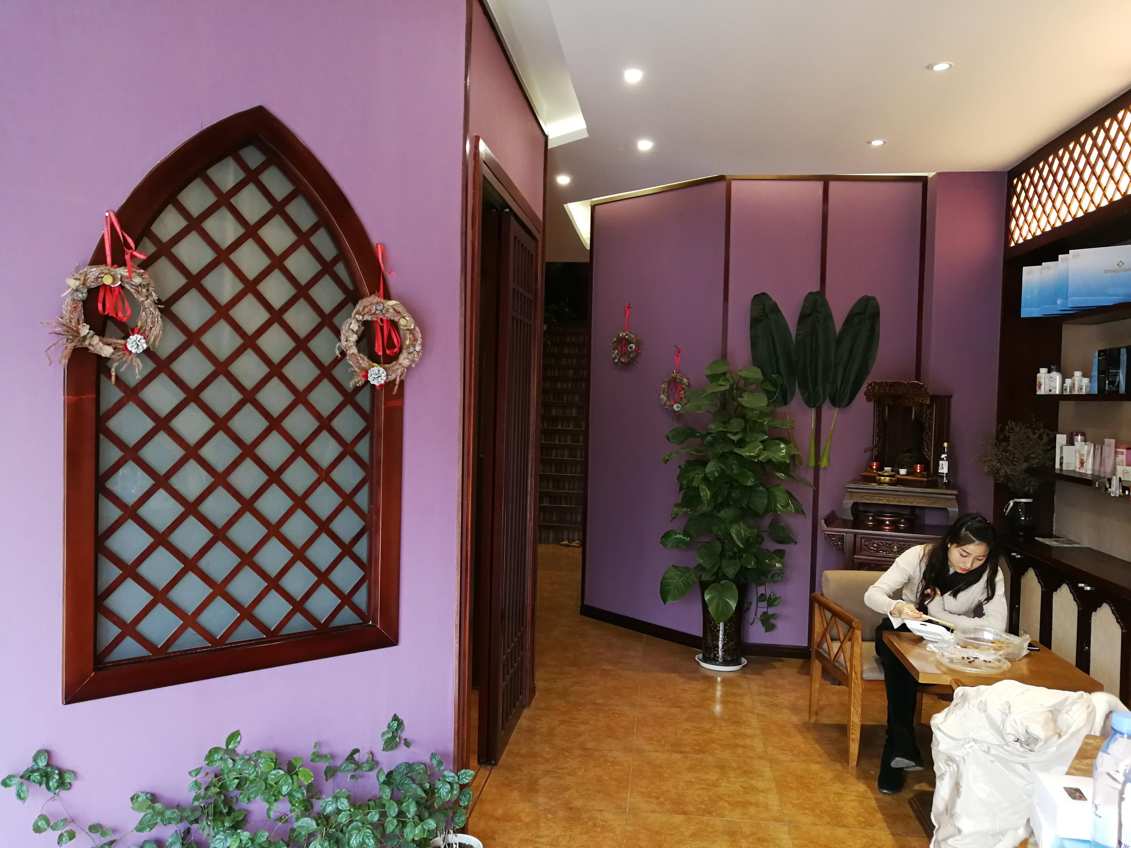 东南亚风格瑜伽馆装修入户走廊