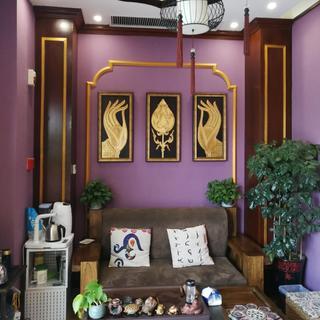东南亚风格瑜伽馆装修效果图