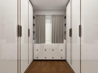 北欧三居装修衣柜图片