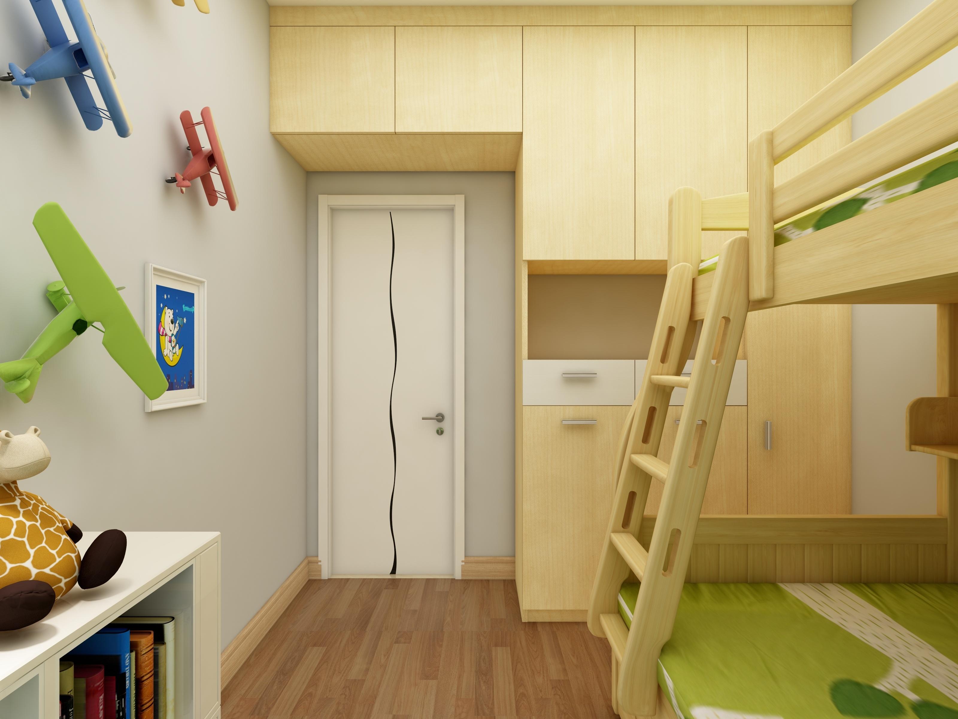 北欧四居装修衣柜图片