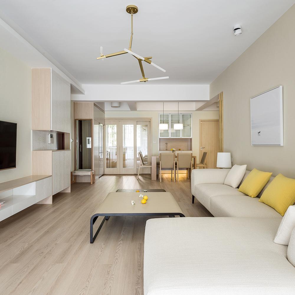 现代简约三居装修 整洁开敞