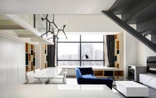 80平loft風格裝修飄窗設計