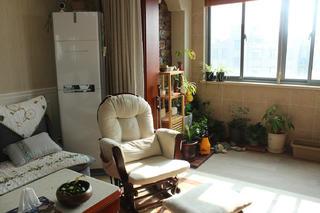 70㎡美式二居装修阳台欣赏图