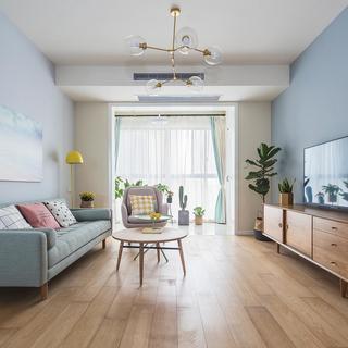 北欧三居室装修设计 清丽质朴