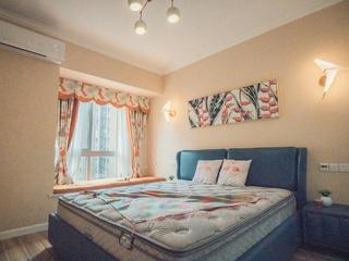 80㎡二居室装修卧室效果图