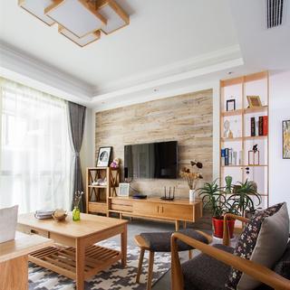 日式两居装修效果图 木质芳香