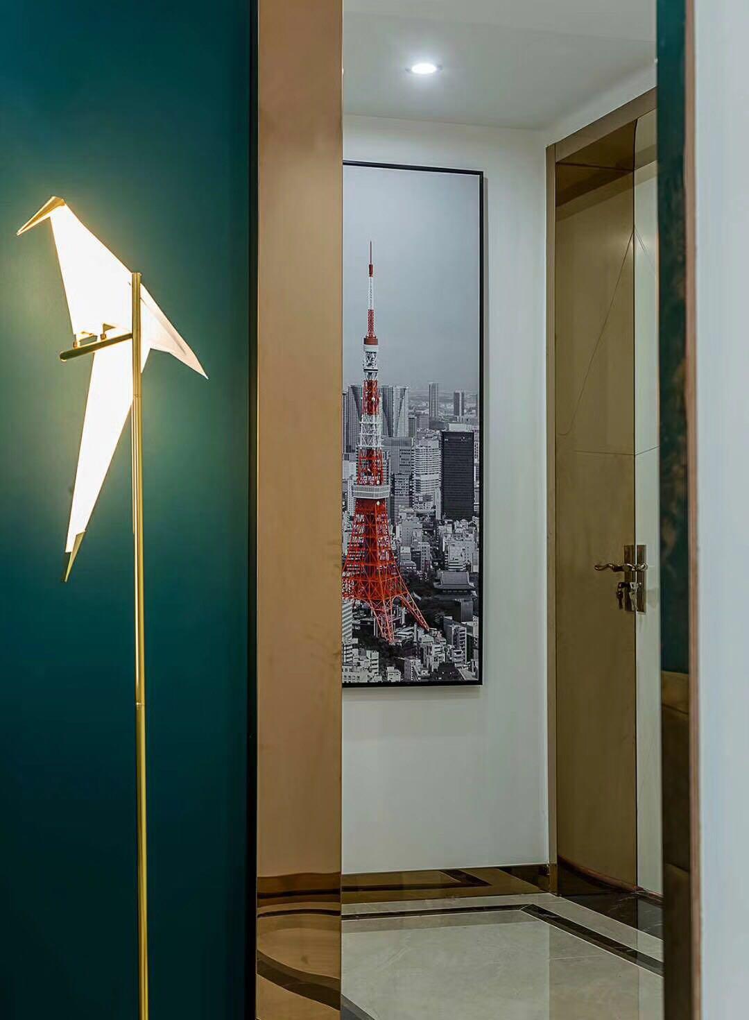 现代轻奢装修灯具图片