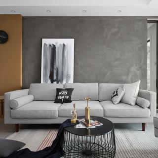 三居室现代风格空间 简约大方