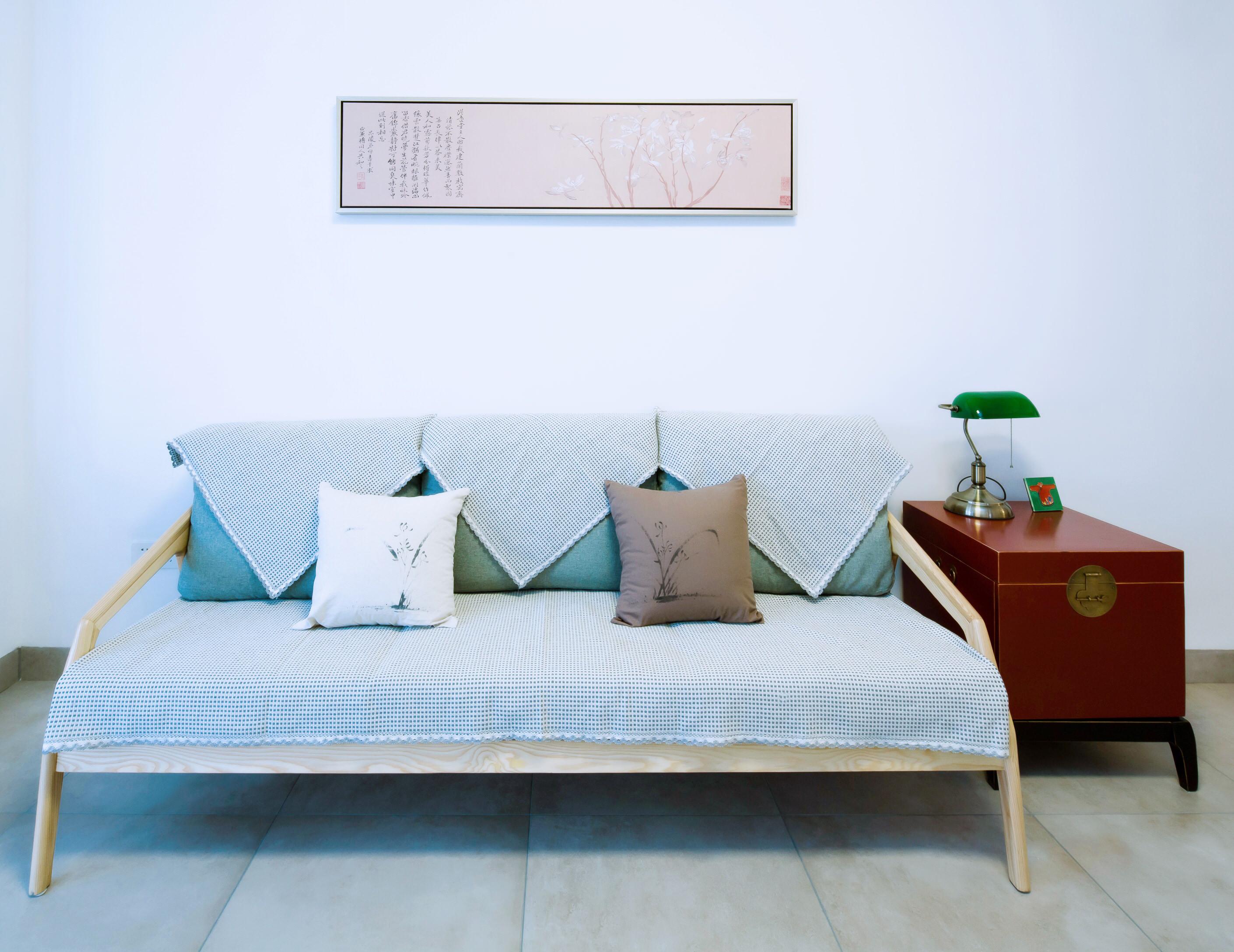 50平小户型之家沙发背景墙图片