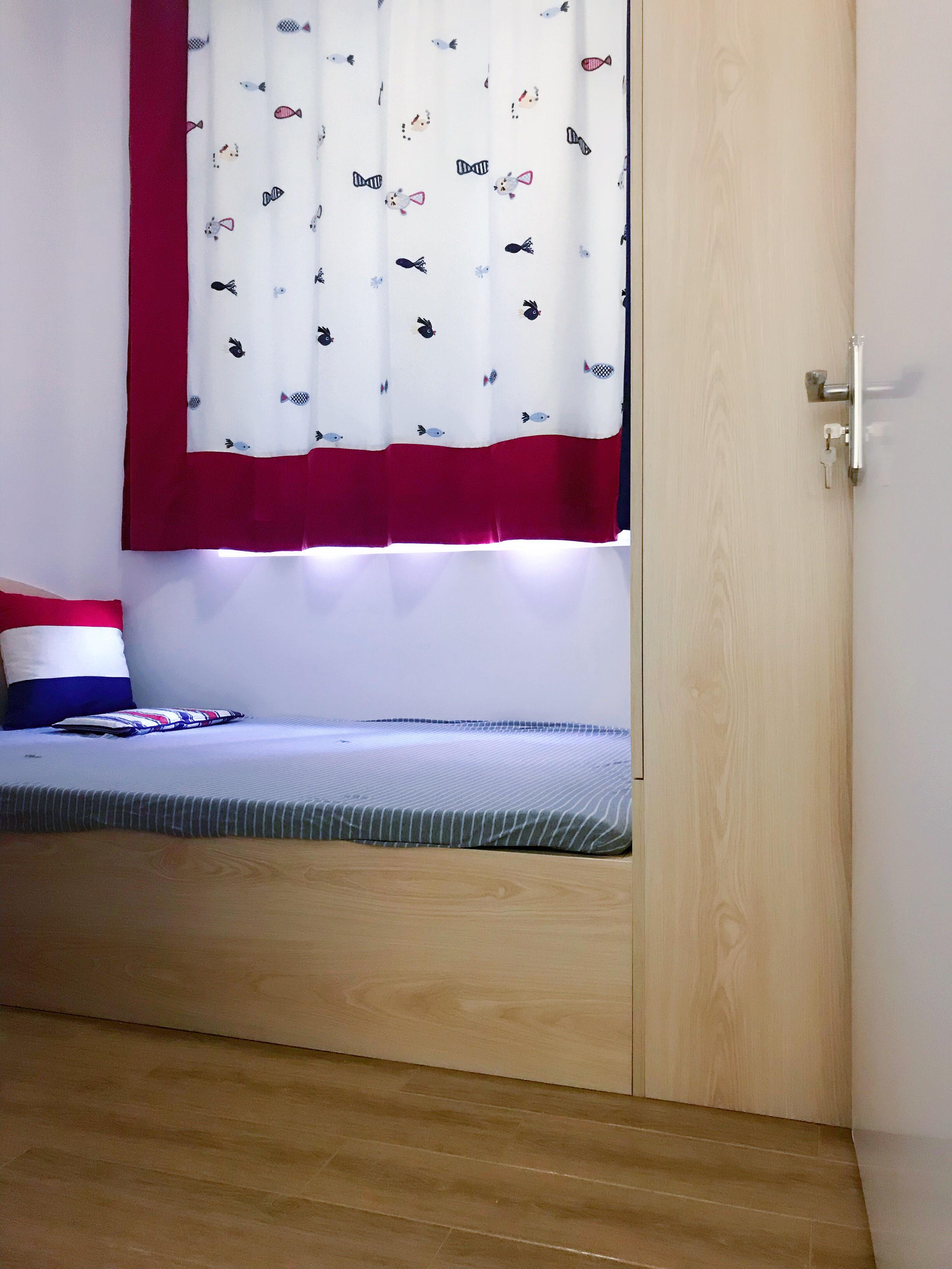 50平小户型之家儿童床图片