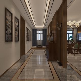 中式别墅装修设计 古朴稳重