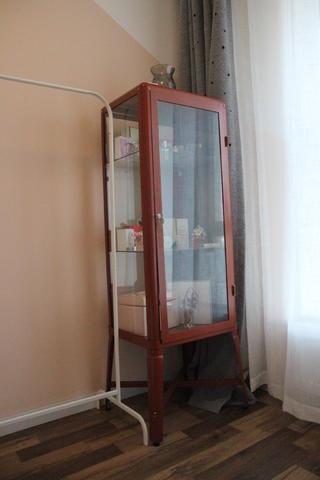 小户型二居室装修置物柜图片