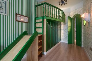 170平混搭风格家儿童房娱乐区