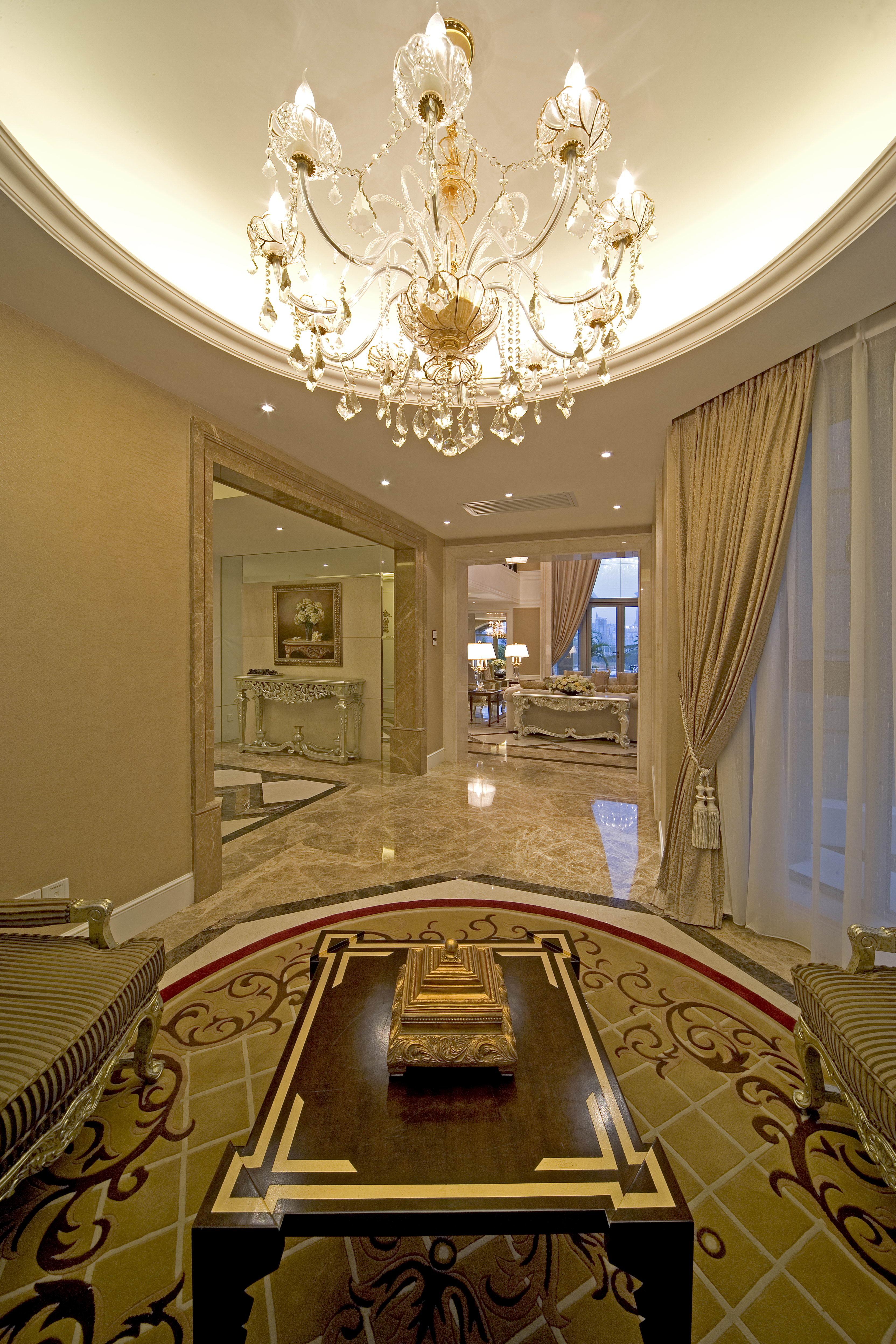 欧式别墅装修门厅欣赏图
