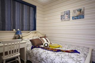 地中海三居室装修儿童房设计图