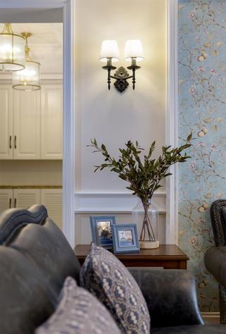 四居室美式风格家边桌装饰摆件