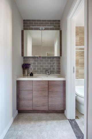86平现代简约家浴室柜图片
